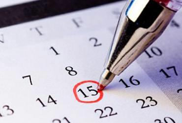 Ручка и календарь