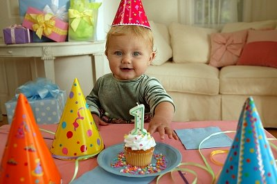 Ребенок и день рожденье