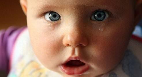 Малыш и слезы