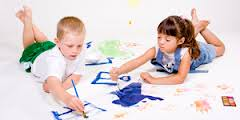 Дети и краски