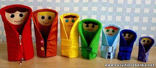 Разноцветный игрушки