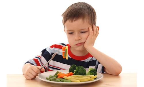 Мальчик и еда