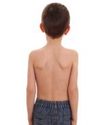 Ребенок спиной