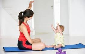 Зарядка мамы и ребенка