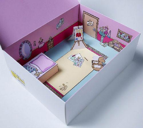 Игрушка из коробки