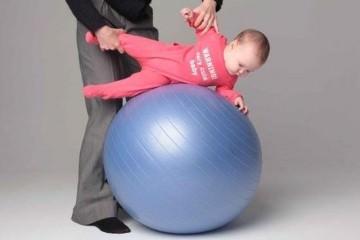 Фитбол и ребенок