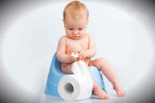 Малыш и туалетная бумага