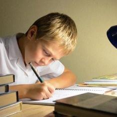 Ребенок и уроки