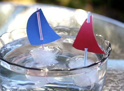 Кораблики в воде