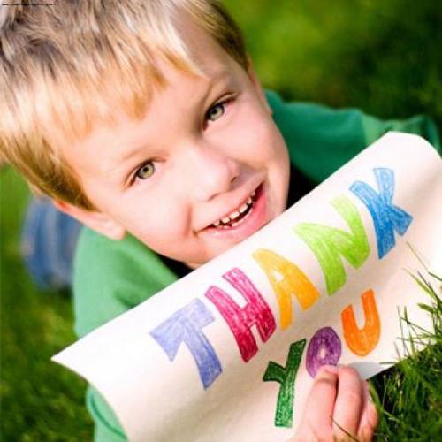 Мальчик и листок бумаги