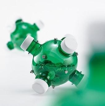 Копилка из пластиковых бутылок