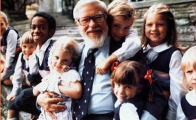 Глен Домен и дети