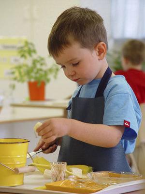 Ребенок и кухня