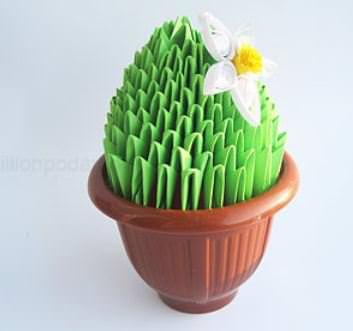 кактус квиллинг