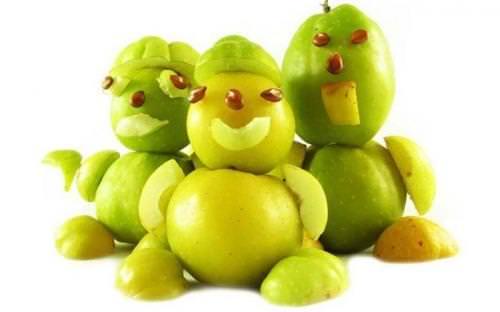 яблочные человечки