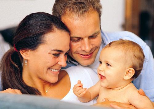 Семья с приемным ребенком