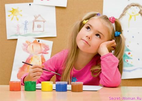 Девочка и краски