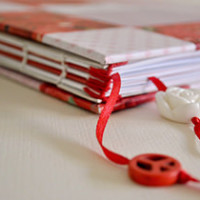 Книга пожеланий из папки-скоросшивателя