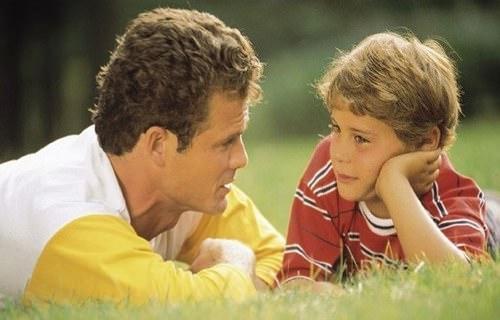 Разговор отца и сына